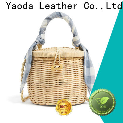 shoulder rattan bag round brass for sale for beach