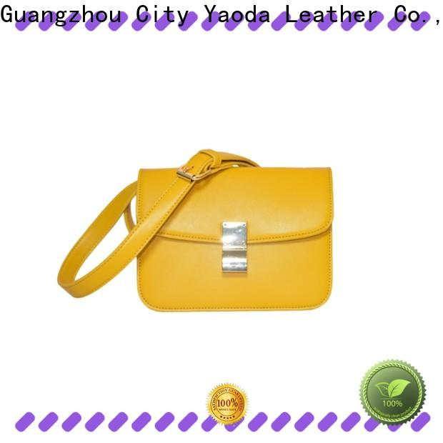 fashion leather clutch flannel supplier for date