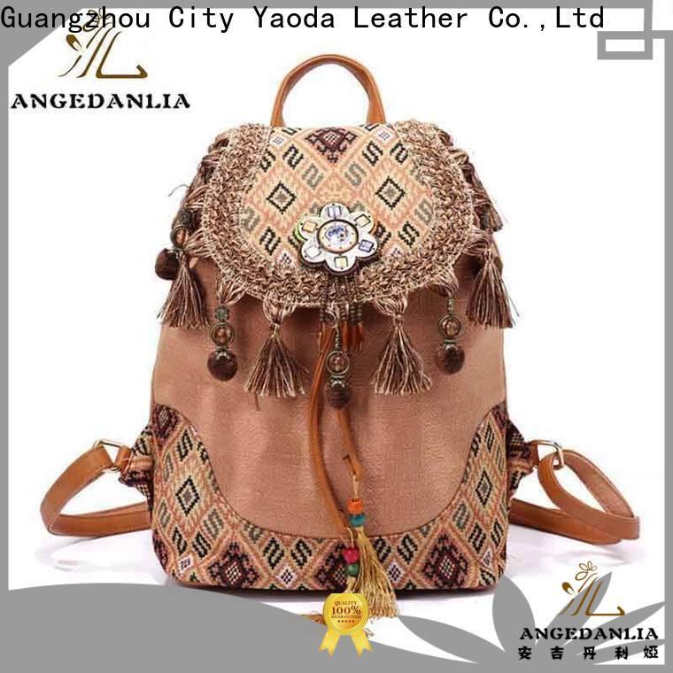 custom boho weekender bag tassel wholesale for travel