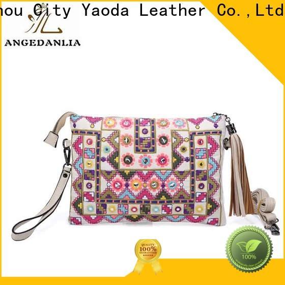 ANGEDANLIA canvas bohemian style handbags for girls