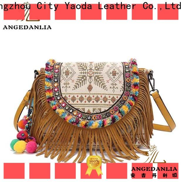 ANGEDANLIA stylish bohemian tote bag Large capacity for girls