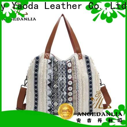 ANGEDANLIA shopping canvas drawstring bags on sale for daily life