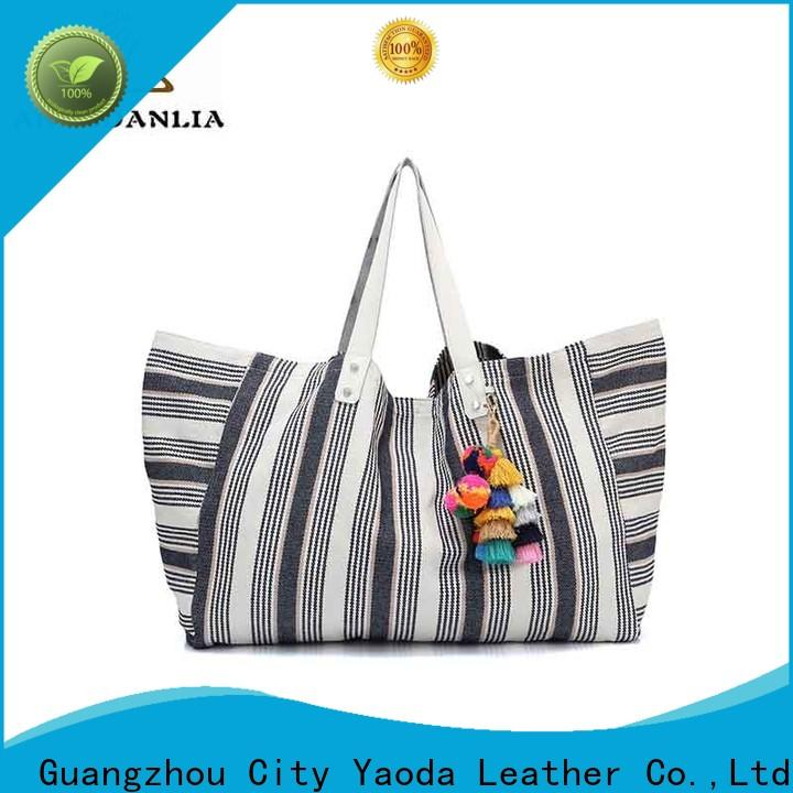 casual canvas cloth bags zipper Chinese for travel