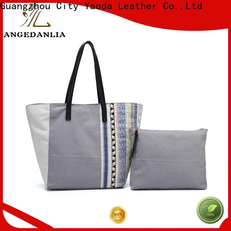 ANGEDANLIA popular small canvas bags on sale for shopping