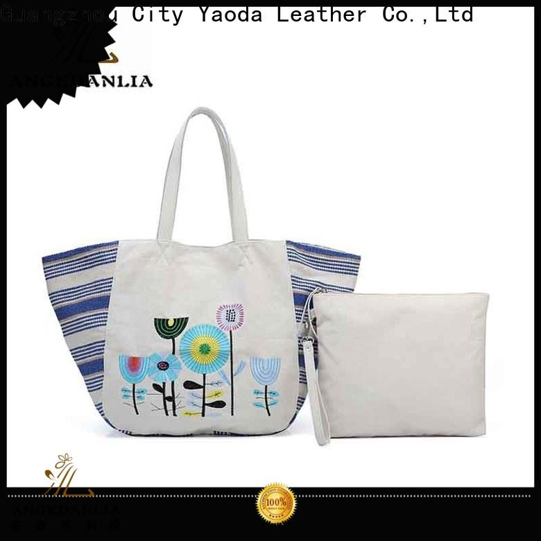 ANGEDANLIA canvas canvas tote handbags online for travel