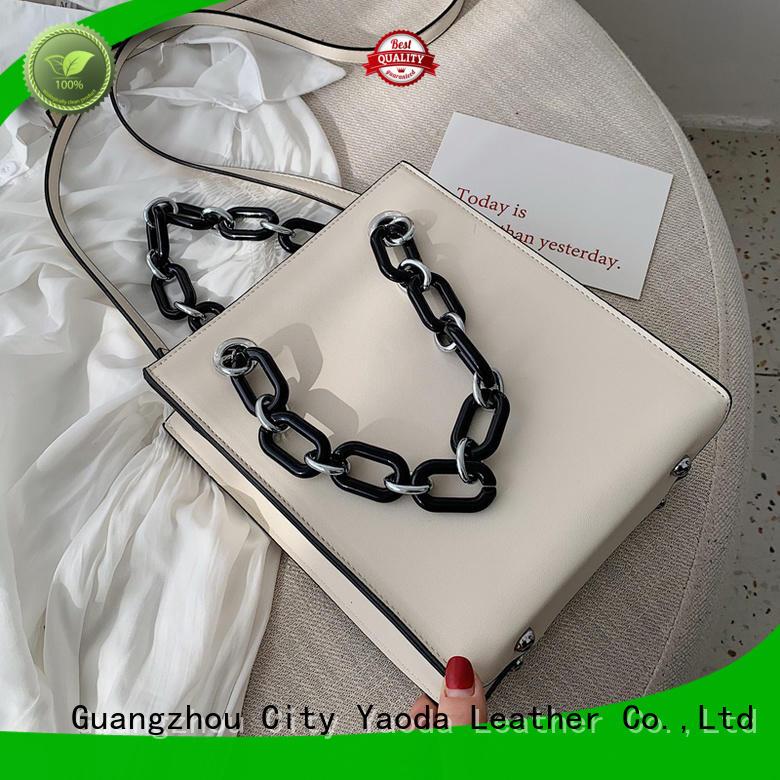 ANGEDANLIA vintage leather shoulder bag for sale for school