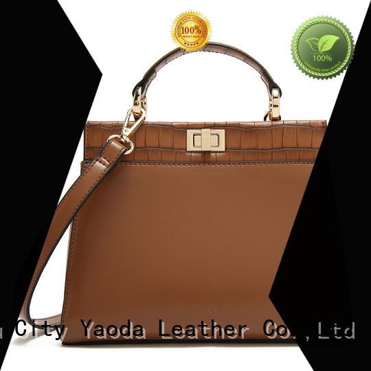 ANGEDANLIA vintage small leather handbag for sale for date