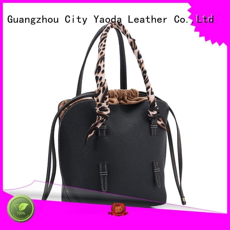 leather weekend bag handbag handle ANGEDANLIA Brand leather crossbody bag
