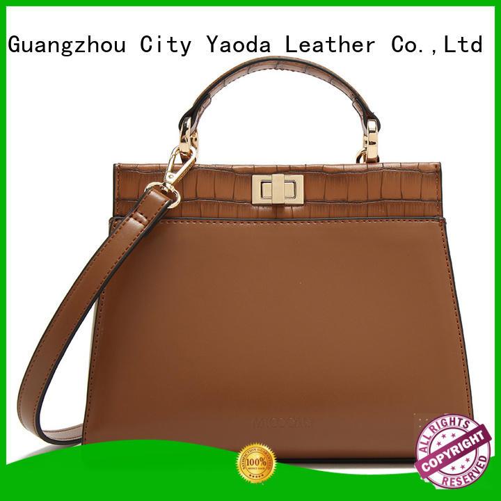 RKY0684 New croc-print patchwork handbag crocodile crossbody bag long handle shoulder bag