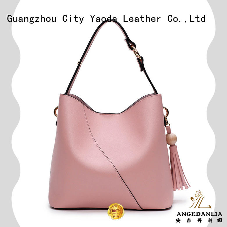 ANGEDANLIA personality patent leather bag supplier for women