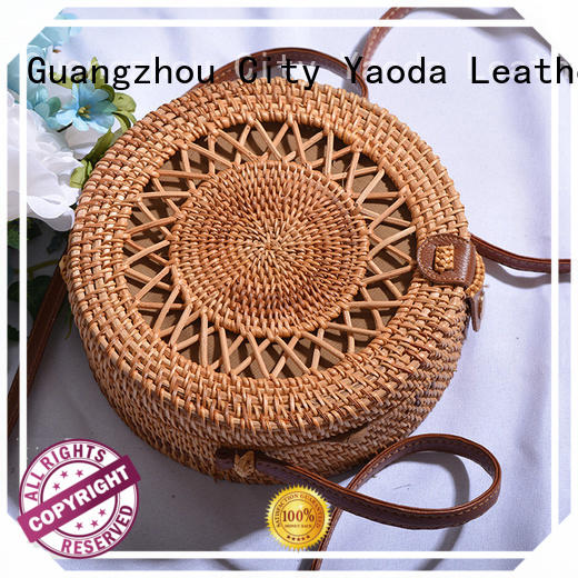 ANGEDANLIA hand wicker bags wholesale online for ladies