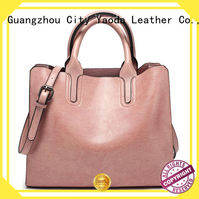 ANGEDANLIA casual leather tote handbags manufacturer for date