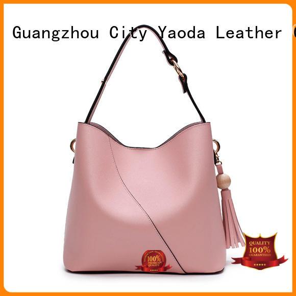ANGEDANLIA fashion purple leather handbags on sale for date