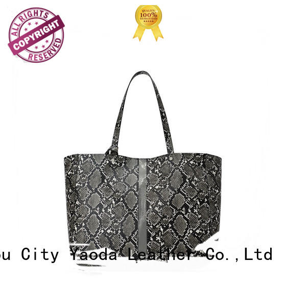 ANGEDANLIA gold customized woman pu leather handbags online for school