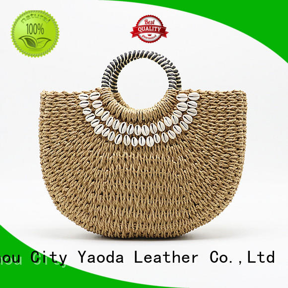 ANGEDANLIA handmade straw totes wholesale on sale for women