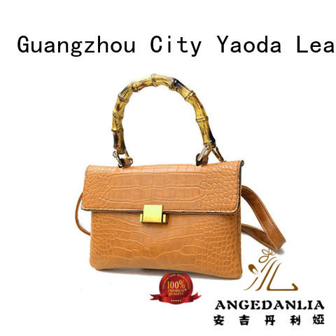 ANGEDANLIA vintage pu leather bag for sale for women