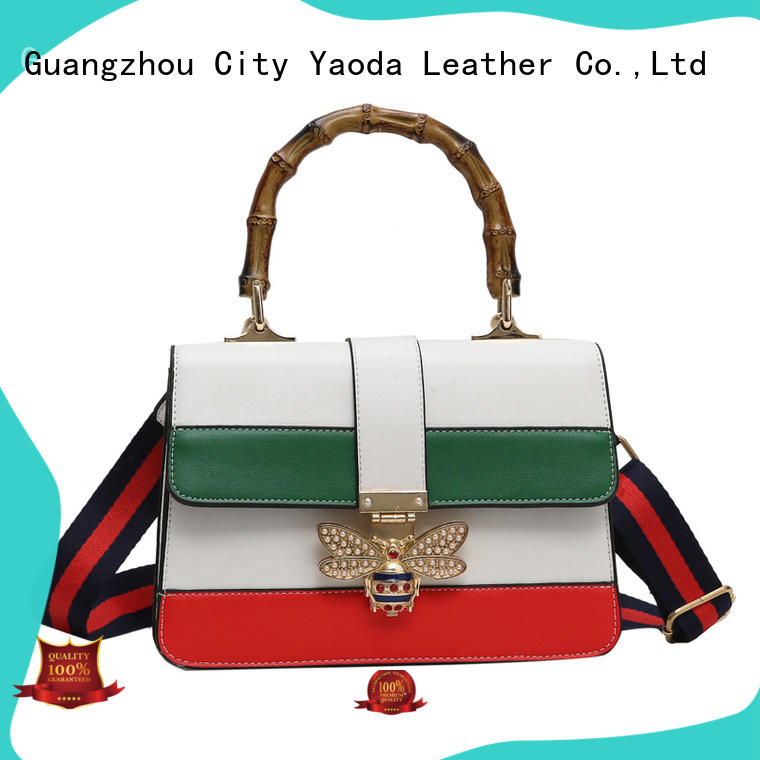 ANGEDANLIA square leather messenger bag manufacturer for work