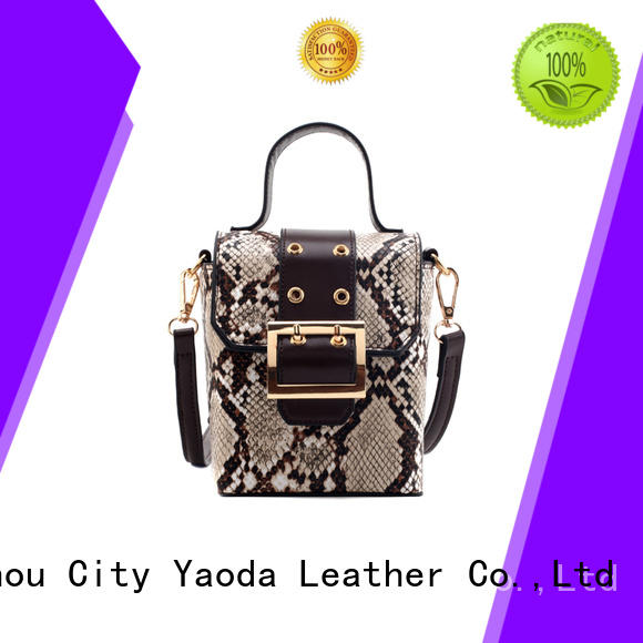 ANGEDANLIA simple designer leather handbags manufacturer for travel