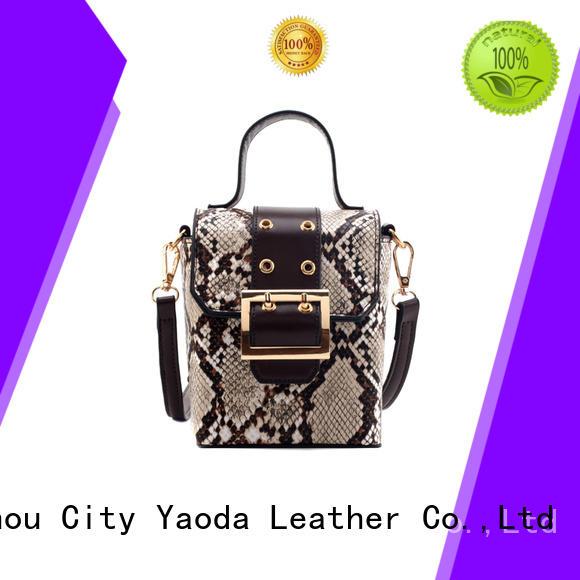 ANGEDANLIA simple designer leather handbags manufacturer for travel