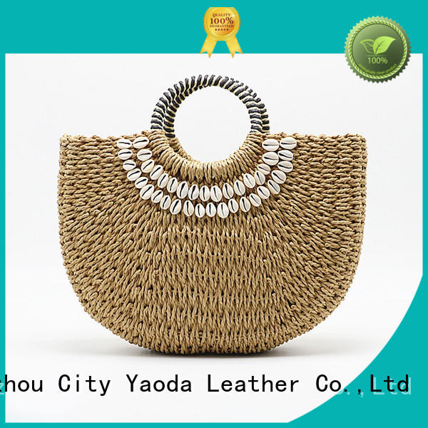 ANGEDANLIA shoulder straw tote bag on sale for women