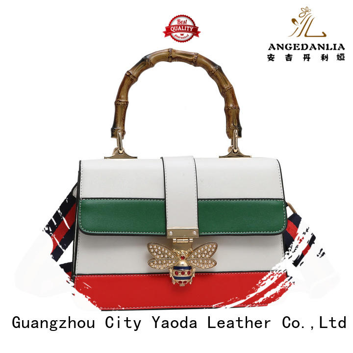 ANGEDANLIA generous pu material bag online for date