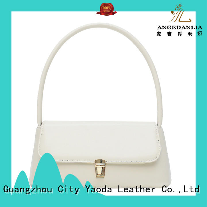 ANGEDANLIA woolen leather slouch bag for sale for date
