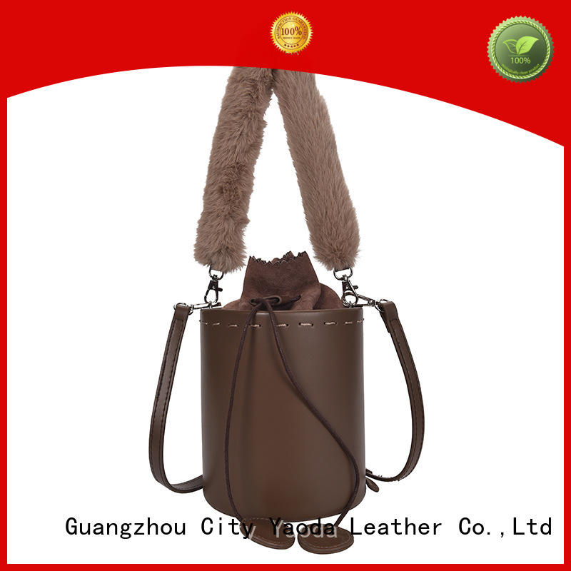 ANGEDANLIA round small leather bag on sale for travel