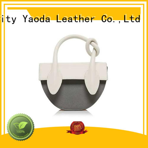 ANGEDANLIA leather leather messenger bag manufacturer for school
