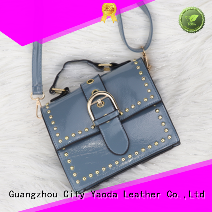 simple pu leather bag manufacturer for women