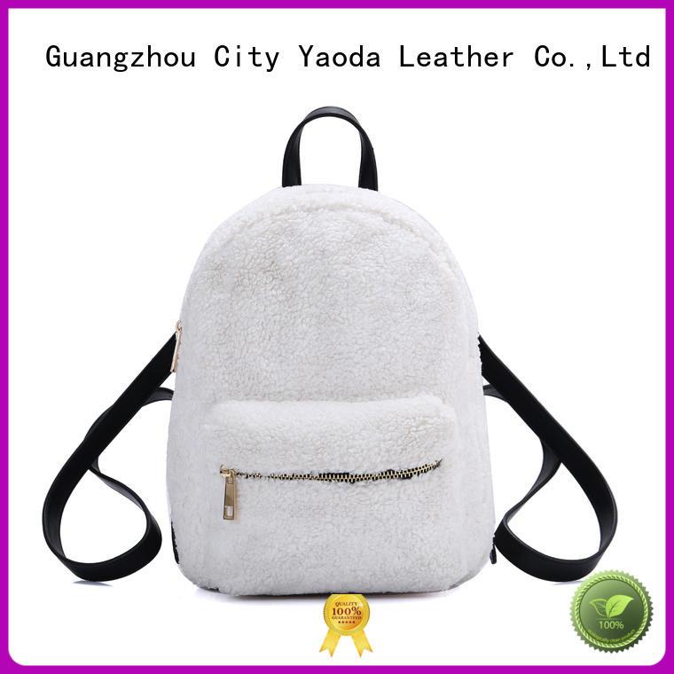 elegant pu material bag shape for sale for travel