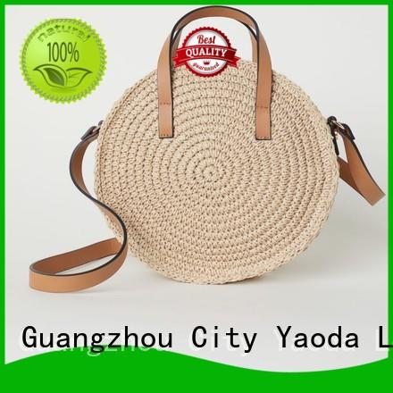 ANGEDANLIA hand straw bag manufacturer for summer
