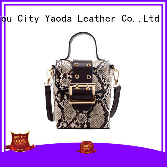 ANGEDANLIA wings tan leather bag manufacturer for women