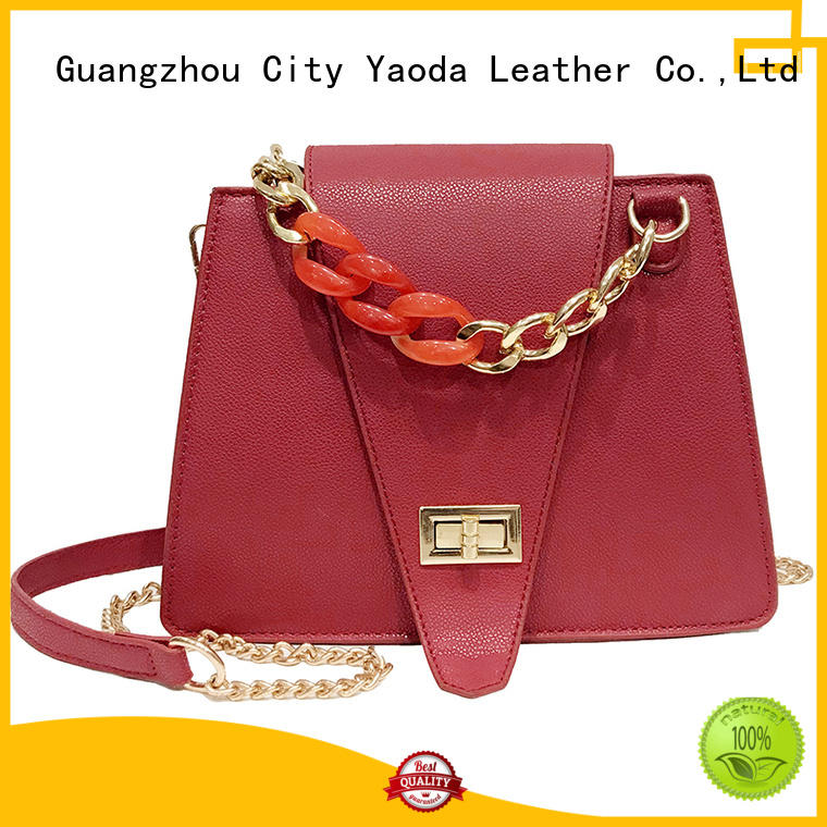ANGEDANLIA logo pu material bag manufacturer for daily life