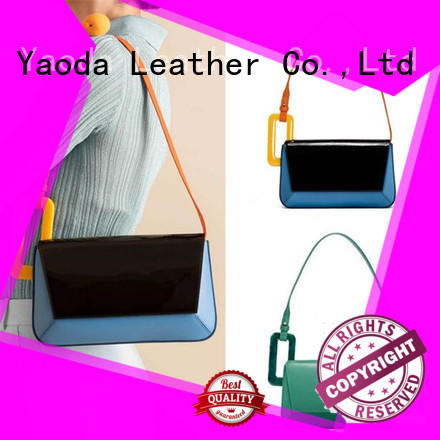 ANGEDANLIA simple leather luggage bag for sale for work
