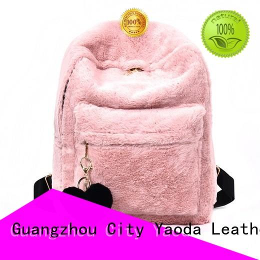 ANGEDANLIA apricot pu shoulder bag online for daily life