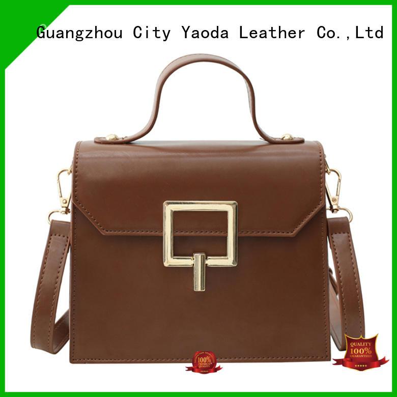 elegant brown leather bag ladies travelling online for date