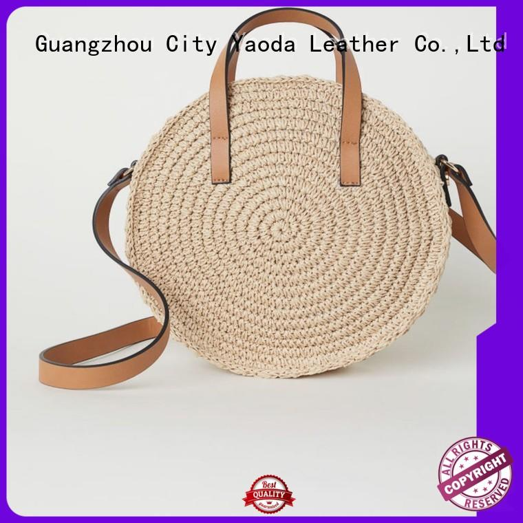 ANGEDANLIA style wicker bags wholesale manufacturer for ladies