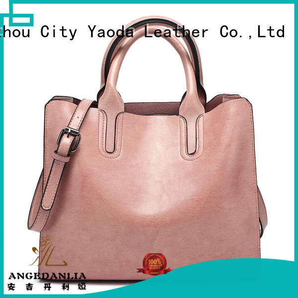 simple real leather bags clutch supplier for travel