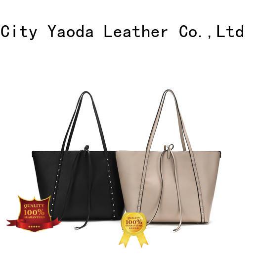 ANGEDANLIA generous purple leather handbags manufacturer for school