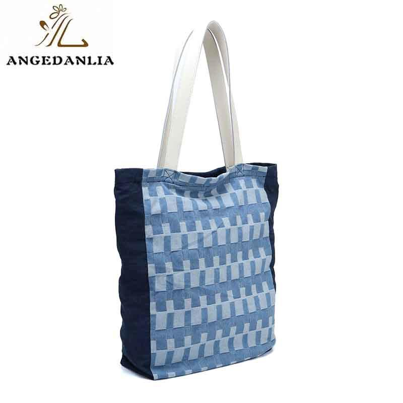 ANGEDANLIA pu canvas tote on sale for daily life-1
