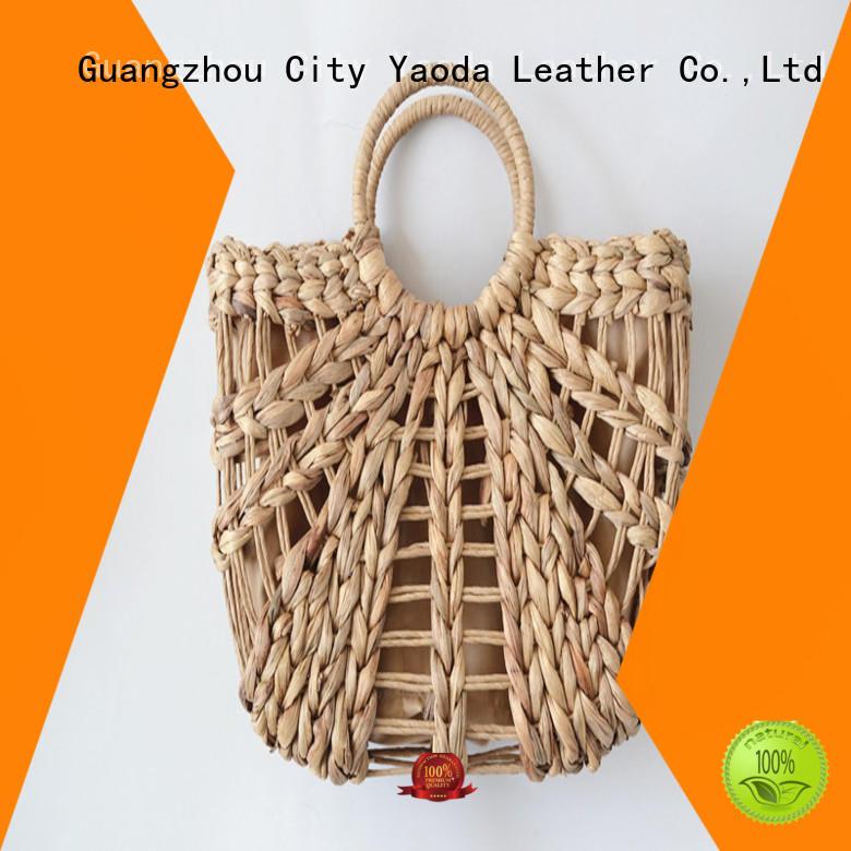 ANGEDANLIA gourd straw bag on sale for women