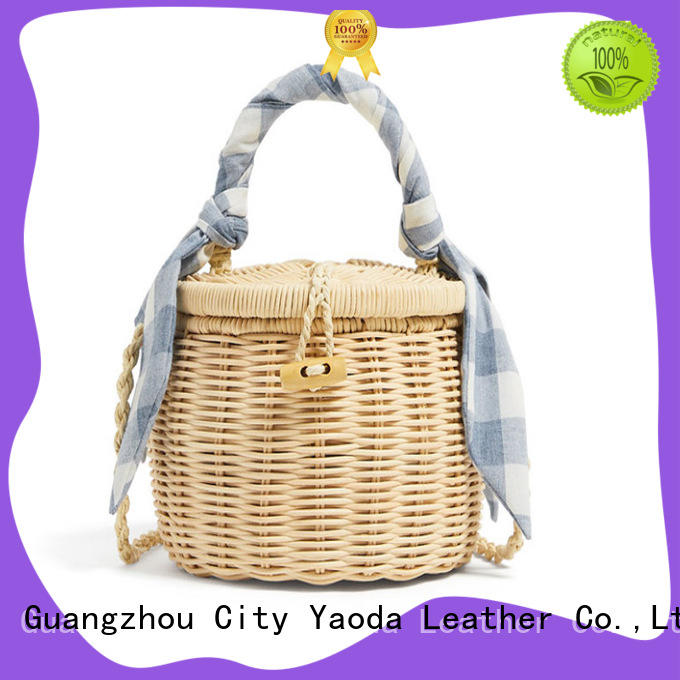 ANGEDANLIA tote wicker bags wholesale on sale for women