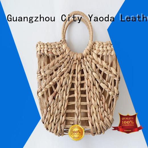 ANGEDANLIA shopping large straw tote online for summer