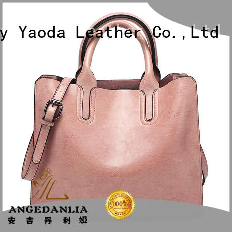 ANGEDANLIA elegant pu leather tote online for school