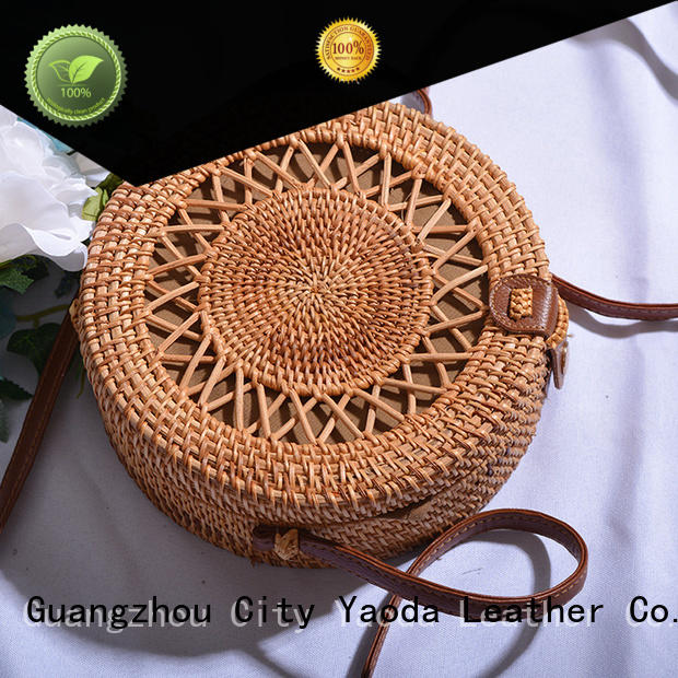 ANGEDANLIA customized wholesale straw tote bags for sale for ladies