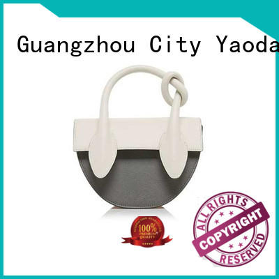 ANGEDANLIA sides black leather tote manufacturer for school