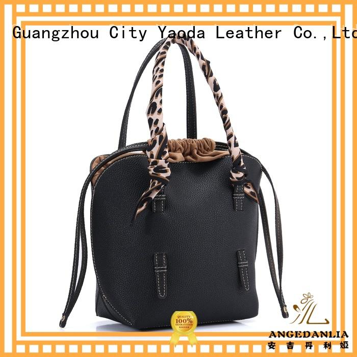 handles handmade leather bags fashion for date ANGEDANLIA