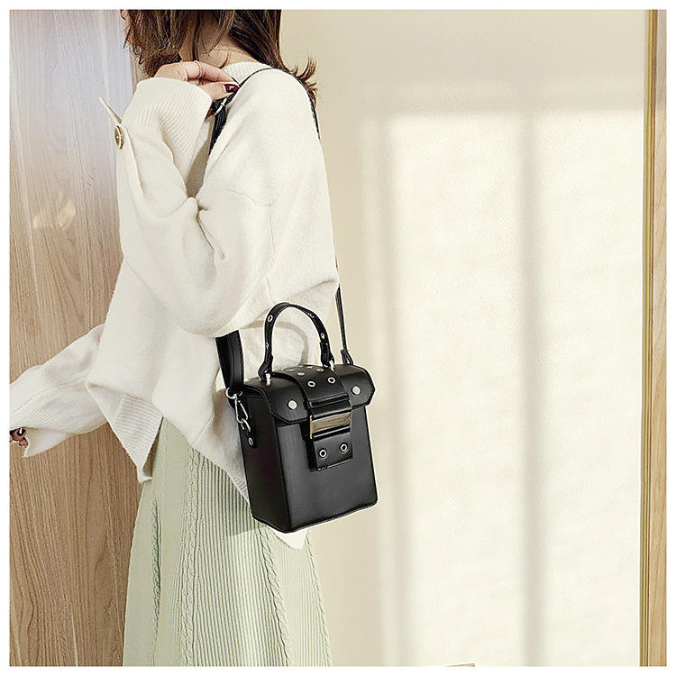 ANGEDANLIA on black patent leather handbags online for travel-2