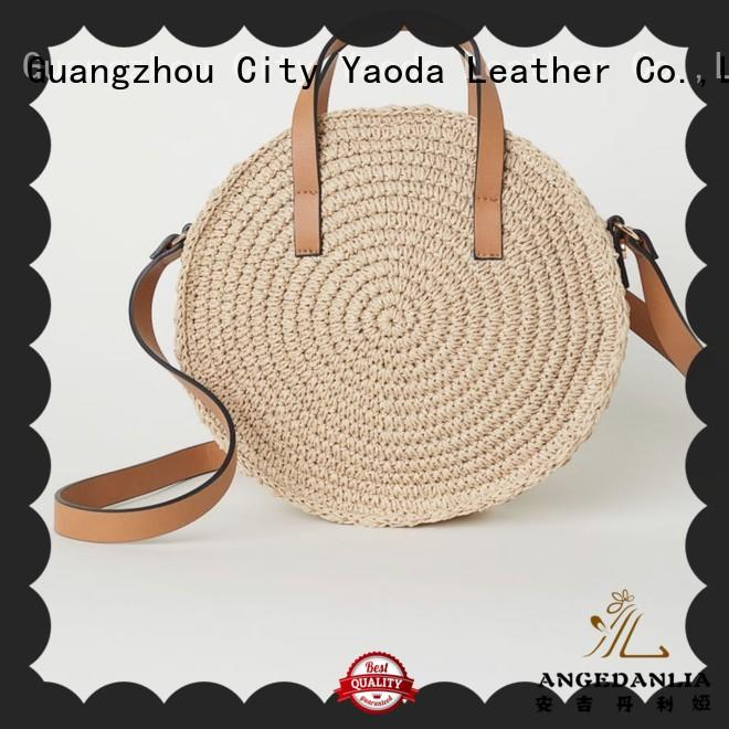 ANGEDANLIA beautiful summer straw bags and totes for sale for girls