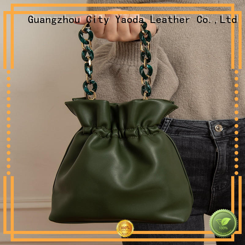 ANGEDANLIA simple real leather purse on sale for women